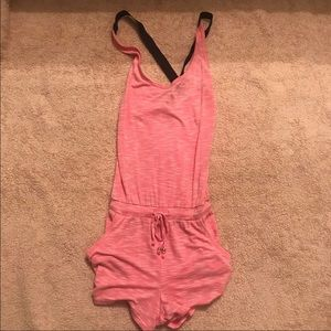 Victoria Secret Peach romper